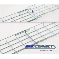 EC30 cable tray assembling sequence