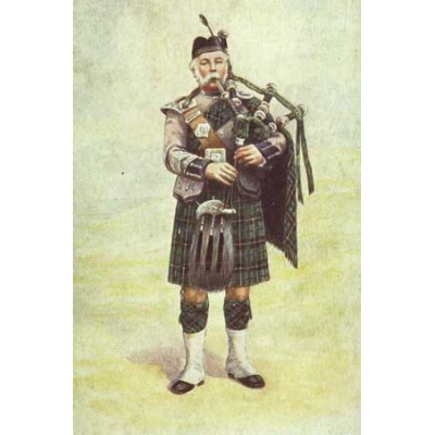 Bagpipe beslutningstagere som Peter Henderson (1851-1903) er en del af den rige historie af militære sækkepibe