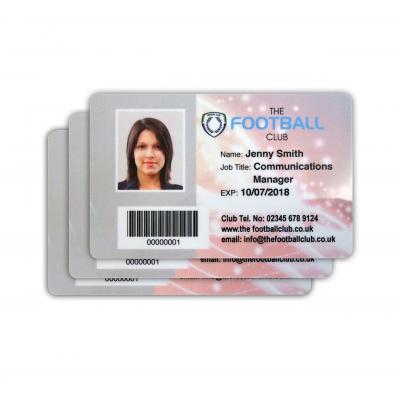 personlige ID-kort selskabskort