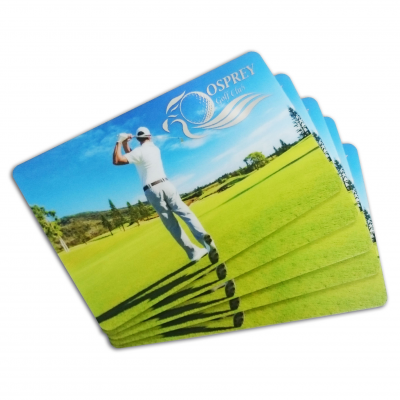 plast medlemskort udskrivning selskabskort
