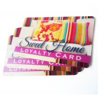 Firma kort plast loyalitetskort trykning