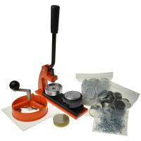 En knap badge maker kit til hjemmebrug og professionel brug.