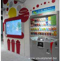 Ein Touchscreen-Automat, der eine PCAP-Folie verwendet
