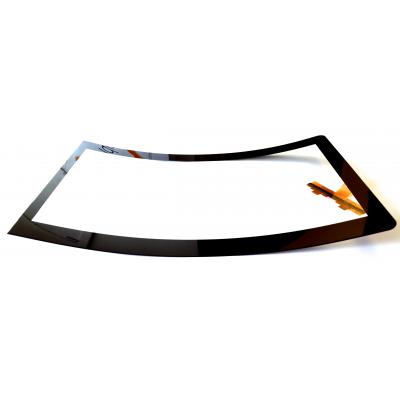 Gebogenes Touch-Glas von VisualPlanet