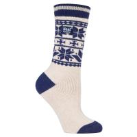Gemusterte warme Socken vom Hersteller der Thermosocken.