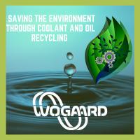 Das Schneidflüssigkeitsrückgewinnungssystem von Wogaard schont die Umwelt.
