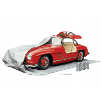 Wiederverwendbare Trockenmittelpackungen für die Langzeitlagerung von Autos.