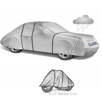 Hagelschutzplane für Autos und Motorräder.