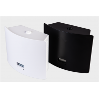 Aromatisieren Sie Duftluftmaschine in den Farben Schwarz und Weiß.