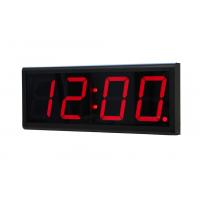 Netzwerk-Digitaluhr-Ansicht der Uhr aus dem rechts