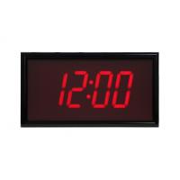 BRG vierstellige ntp synchronisierte digitale Uhr Vorderansicht