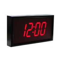 BRG vierstellige NTP Hardware Uhr Seitenansicht