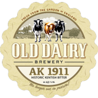 ak 1911 von alten Molkerei Brauerei, britische kentish Bier Distributor