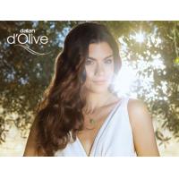 Olivenöl Shampoo im Einsatz