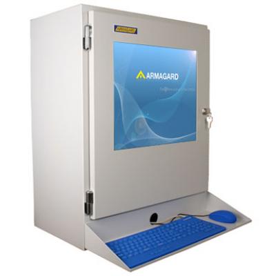 Industrie Lcd Monitor Ip54 Gehäuse Für Kleine Computer Und Lcd