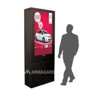 Digital Signage-Gehäuse von Armagard