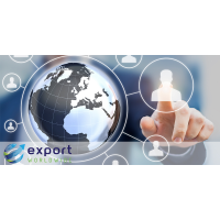 Export Weltweite globale Marketingplattform
