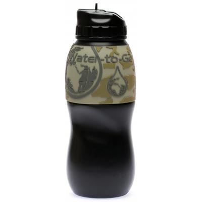 Wasser zum Mitnehmen Wasserflasche mit Filter für die Reise