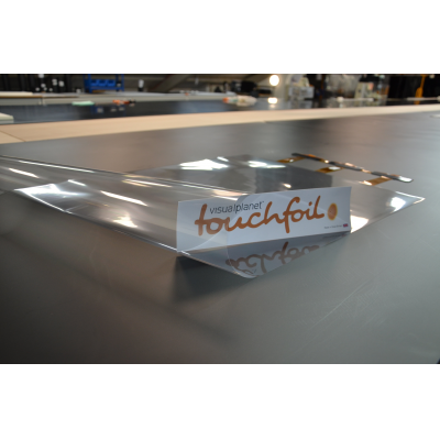PCAP touch foil for glass made by VisualPlanet