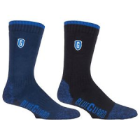 blueguard durable socks in two different colours