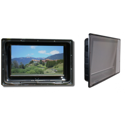 weatherproof TV enclosure