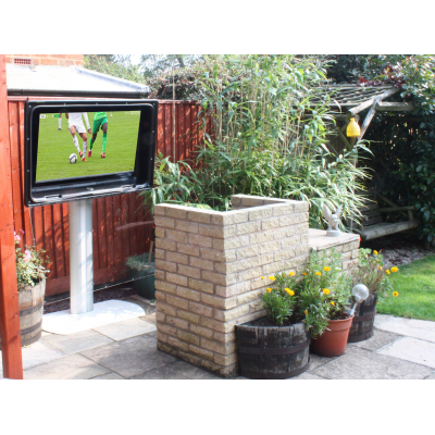 relax with the outdoor TV for patios