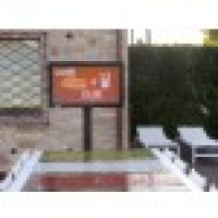outdoor TV for gardens and patios