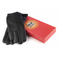 Leather thermal gloves from HeatHolders.