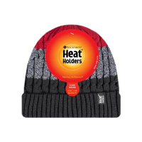 A men's warm hat from HeatHolders, the leading thermal hat supplier.