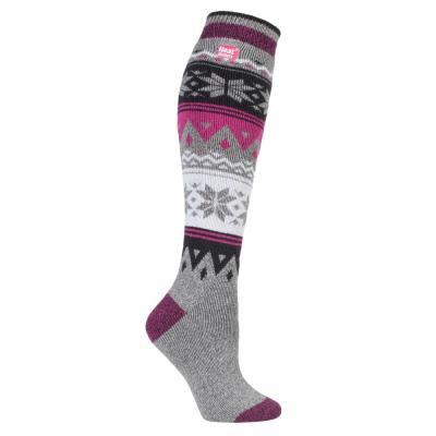 Long women's sock from HeatHolders: manufacturer of the warmest socks in the world.
