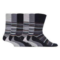 Black and grey comfortable socks.