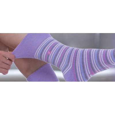 pink soft socks for women from GentleGrip.