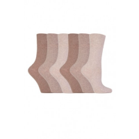 Natural and beige diabetic socks from GentleGrip.