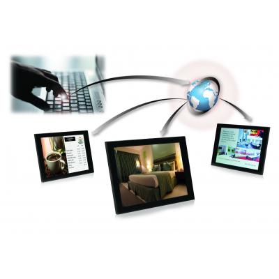 Airgoo cloud-based digital signage solution.