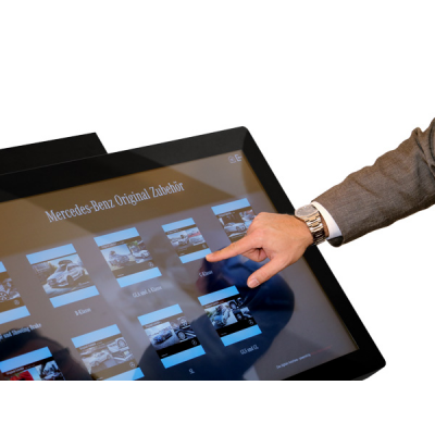 Interactive kiosk from Airgoo.