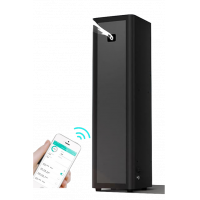 TowerAroma scent marketing machine with Bluetooth control.