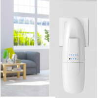 AceAroma scent marketing machine mounted on a wall.