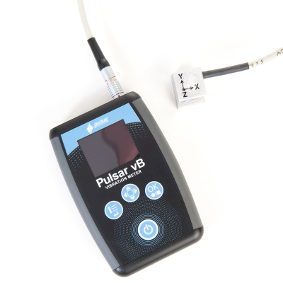 Hand-arm vibration meter for industry, construction, power tool users and more.