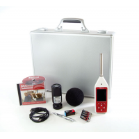 Optimus Red sound level meter with frequency analysis kit