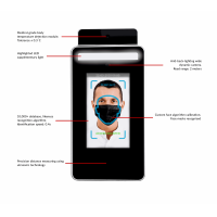 A list of the infrared thermometer with face recognition's features.