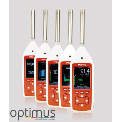 A range of Class 1 sound level meter