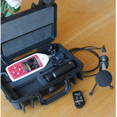 Class 2 sound level meter with a Trojan2