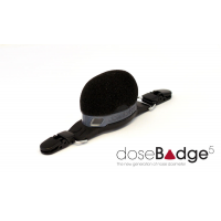 The doseBadge5 wireless personal decibel meter from Cirrus Research.