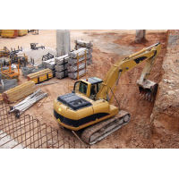 Construction sites cause environment noise pollution. Use a Cirrus sound meter to assess noise levels.