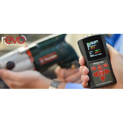 vibration meter with FFT
