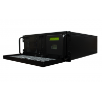 Secure NTP Server right view of unit with door open
