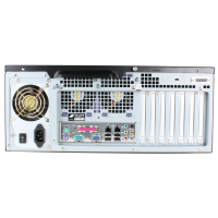 Rackmount dual time server NTS-8000 rear view