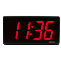 Novanex NTP wall clock front display