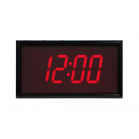 BRG four digit ntp synchronized digital clock front view