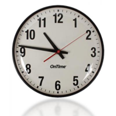 NTP analog wall clock